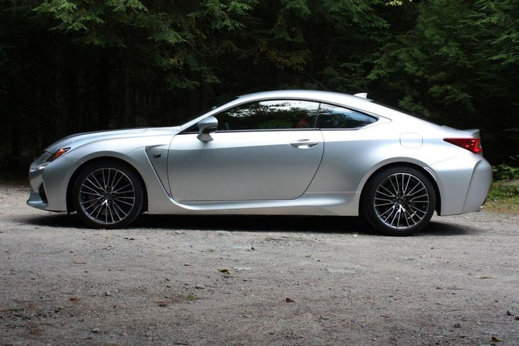 2015 Lexus RC right side /// First drive: 2015 Lexus RC F and RC 350