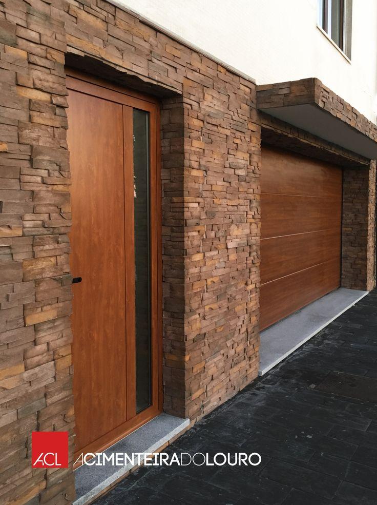 Veja mais esta fantástica obra realizada!  Revestimento de betão  Royal  RY 08  --  Take a look this fantastic work done!  Wall concrete tiles  Royal  RY 08