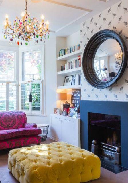 happy modern Victorian home interior 4