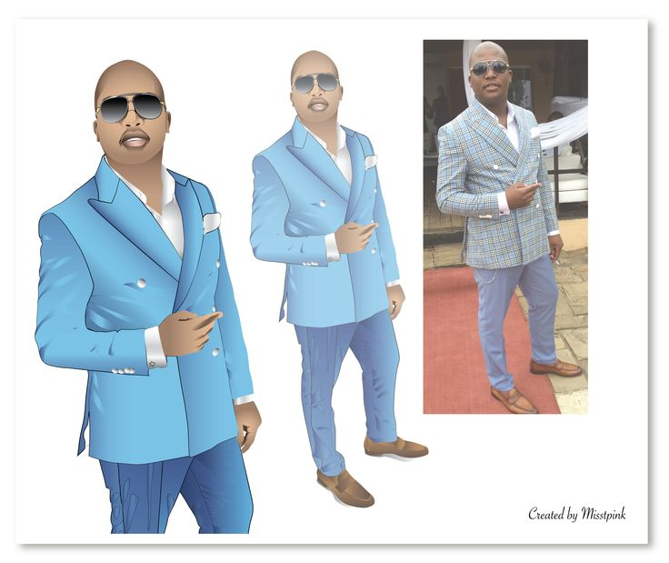 Comparison #client #support #myhobby #growing #stepbystep #illustration #vector #fashion #menwithstyle #blue #suit #style #face #closeup #sunglasses #swag #instaswag #instaillustration