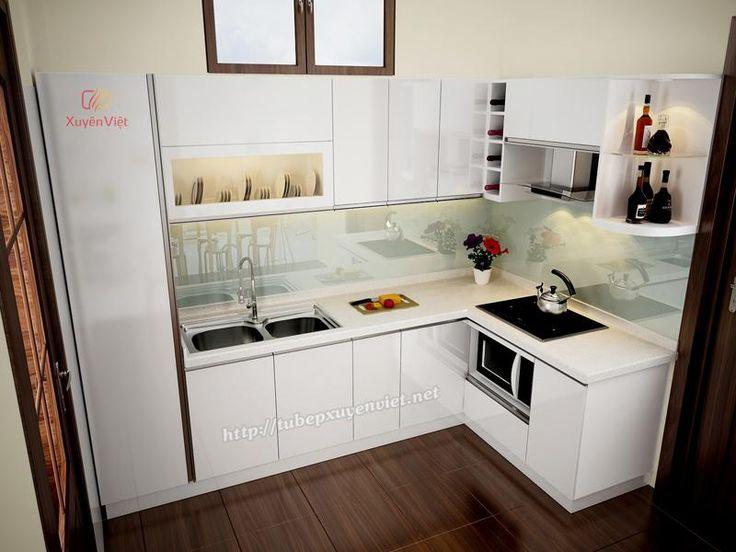 Phụ kiện tủ bếp: Hiện trạng nhà bếp đẹp của gia đình bác Hồng - Việ...
