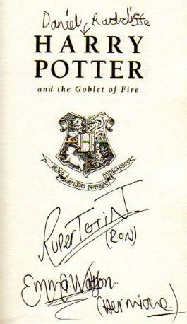 I found it kind of funny how Dan made an arrow towards the title rather than writing his character like Emma or Rupert.