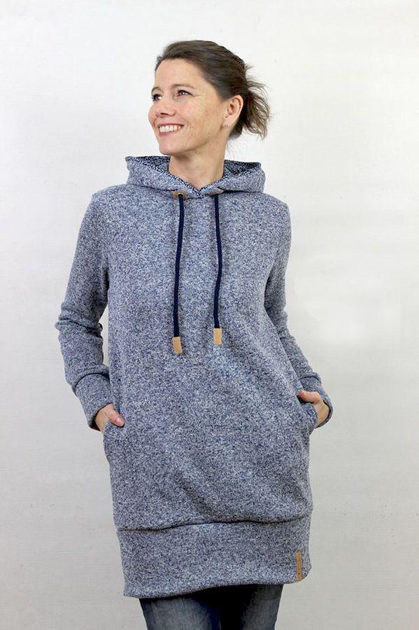 online store 98ea5 3cabc ebook 'Caracol' Damen Hoodie Gr. 32/34 - 50/52 | nähen ...