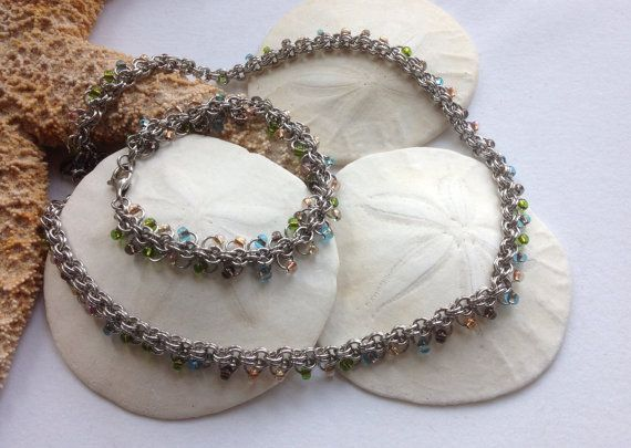 Rare Earth Minerals Inspired Bracelet and by JewelrybySacredArt, $80.00
