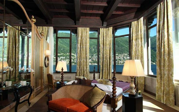 Lake Como at your feet!  Book Your 5 Stars #Luxury #Resort on #LakeComo www.castadivaresort.com