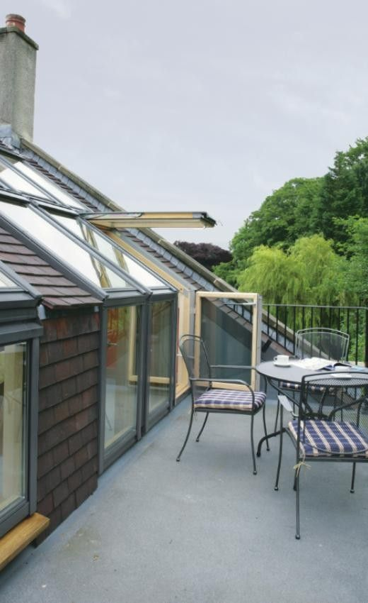 Roof Terrace System