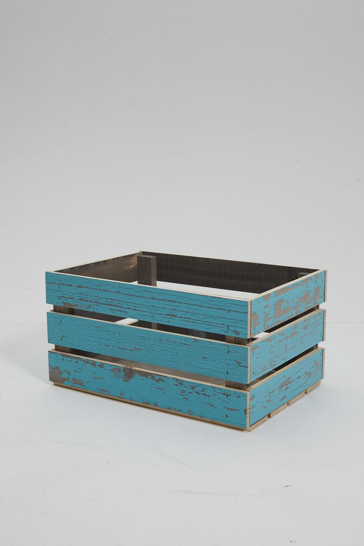 Features:  -Reclaimed wood.  -Made in the USA.  Country of Manufacture: -United States.  Product Type: -Crates.  Quantity: -Individual.  Primary Material: -Wood. Dimensions:  Overall Height - Top to B