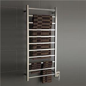 タオルウォーマー-Homezakka 壁掛けタオルウォーマー タオルハンガー+簡易乾燥 ステンレス鋼110W