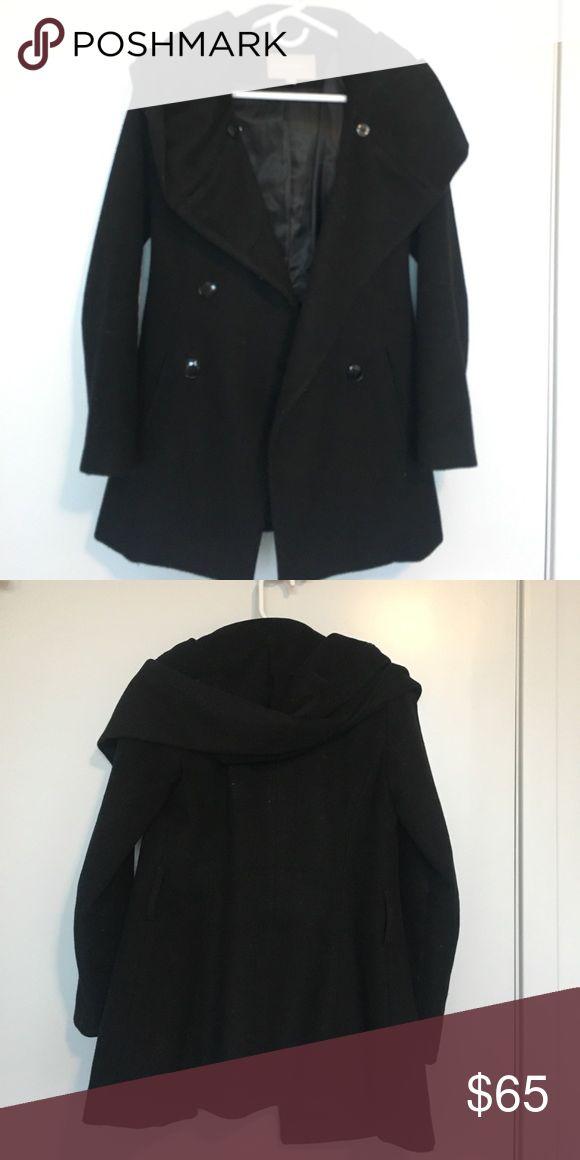 Banana Republic black pea coat. Petite XS Banana Republic black pea coat. Petite XS Banana Republic Jackets & Coats Pea Coats