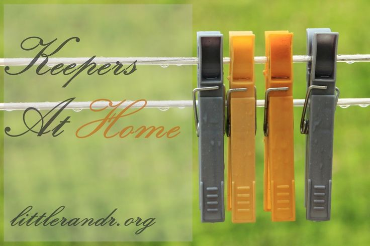 Keepers At Home {a Titus 2 series}