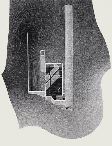 Chapel on Mount Rokko. 1985-86. Kobe, Hyogo, Japon, Tadao Ando