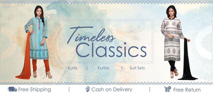 Women's hand block printed cotton clothing shop, Buy Jaipuri kurtis, kurtas, indo western suit sets & designer palazzos online. ✓ Free Shipping ✓ COD ✓ 15 Days
