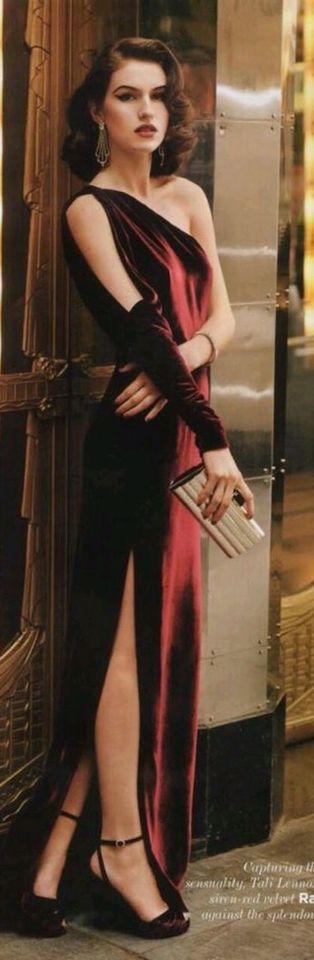 ⚜⚜ The Suite that is Sweet {do not disturb} ⚜ velvet dress