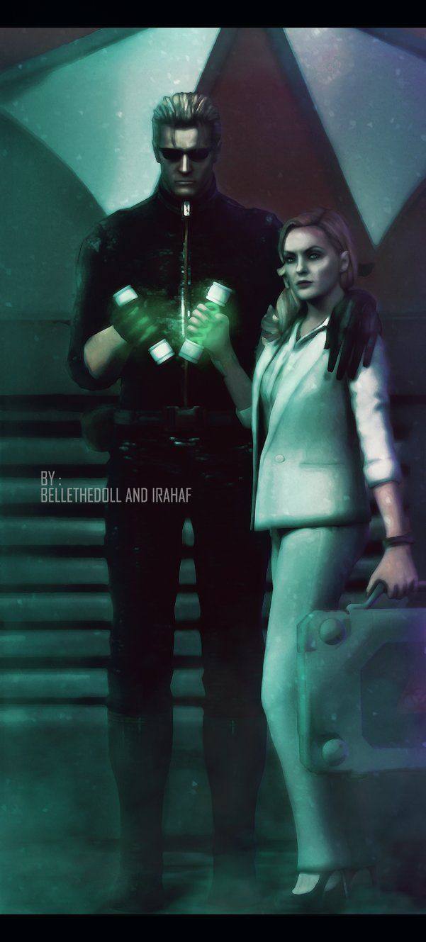 Albert and Alex Wesker -bellethedoll.deviantart.com