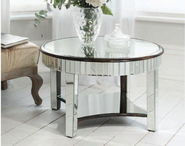 The Mirrored Riley Coffee table by Gallery Homeware