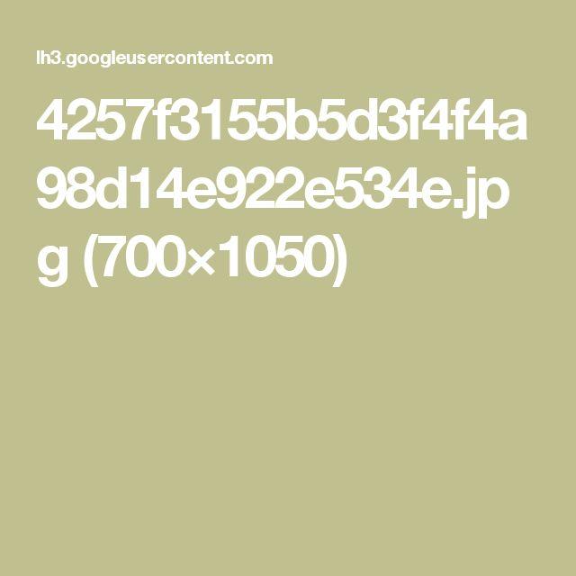 4257f3155b5d3f4f4a98d14e922e534e.jpg (700×1050)