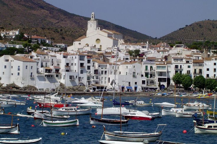 Cadaqués (Spain), Dali's vacation spot. The colors in Cadaques are EXACTLY the same as in his paintings.