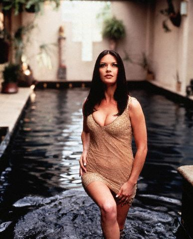 Catherine Zeta Jones.... So beautiful with out being stick thin! Love her!