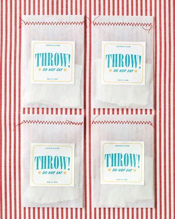Glassine Sleave Confetti Bags