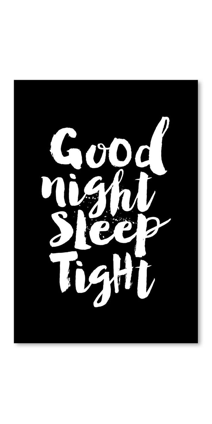 Leinwandbild Good Night Sleep Tight