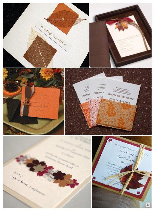 faire part mariage automne feuille vegetal pochette tissu. Black Bedroom Furniture Sets. Home Design Ideas