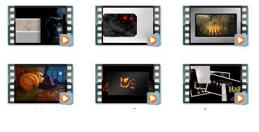 GraHalloween HD Motion Videos
