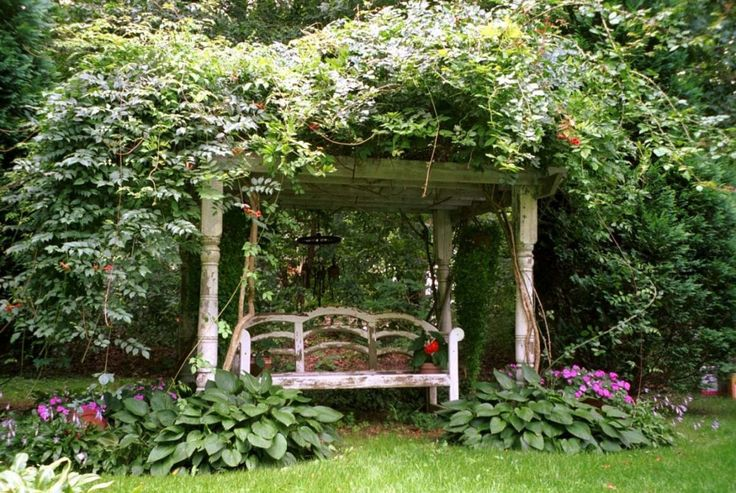 Love the post on this pergola....