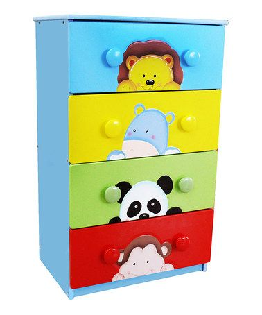 Look what I found on #zulily! Sunny Safari Drawer Set #zulilyfinds