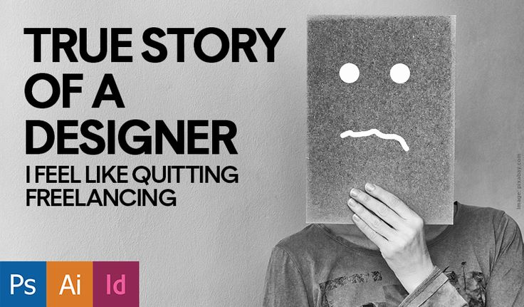 This is a true story of a designer who works hard to complete a project and then the client negotiates the final amount after the completion of the work. True Story of a Designer: I Feel Like Quitting Freelancing  » http://bit.ly/2y8gnmU  #DesignersLife #Freelancer #HilariousClients #SayNotToFree #TrueStory