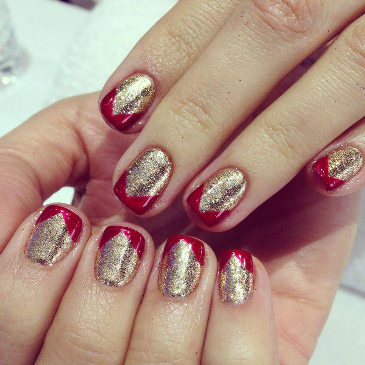 Nails , Christmas nails , holiday nails, no chip manicure ... - photo #11