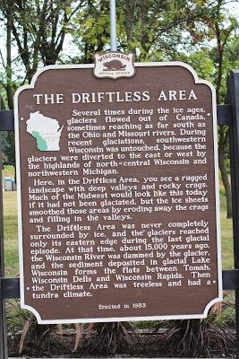 Wisconsin Historical Markers: Marker 272: The Driftless Area