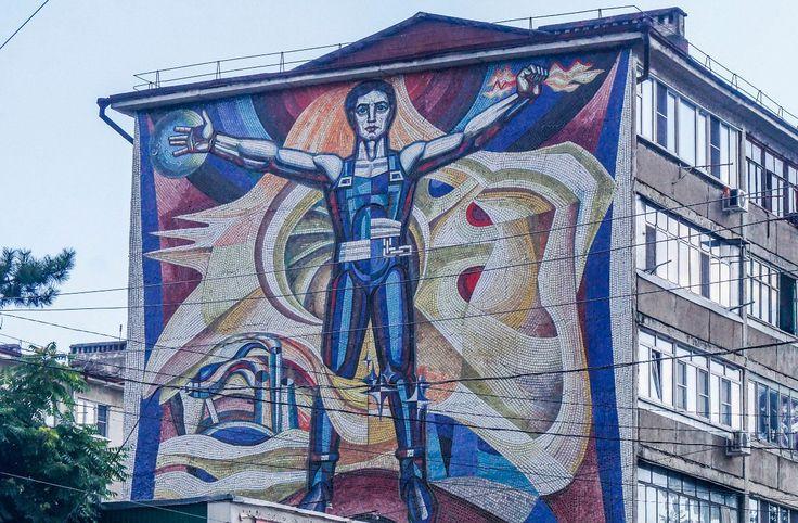 Мозаика советского Новороссийска