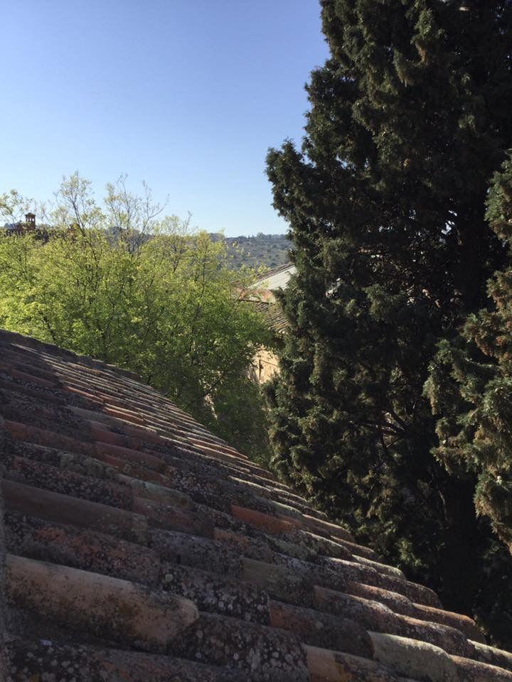 Terrace in Toledo, Spain. casamycasa.com