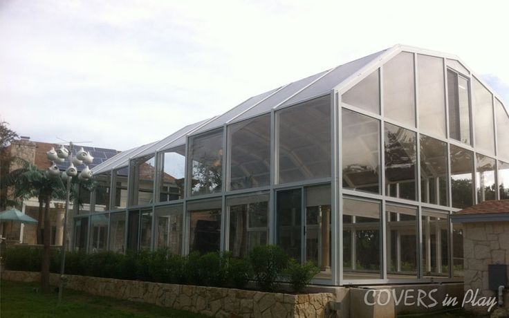 Reduce your spring cleaning list with a retractable pool enclosure. It's the time to re-open the pool. See more:http://www.coversinplay.com/features.html #Pool #PoolCover #Cover #Enclosure #PoolEnclosure #IndoorPools #PatioEnclosures #PoolDesigns #SwimmingPool #EndlessPool #RectractablePool  #GroundPool