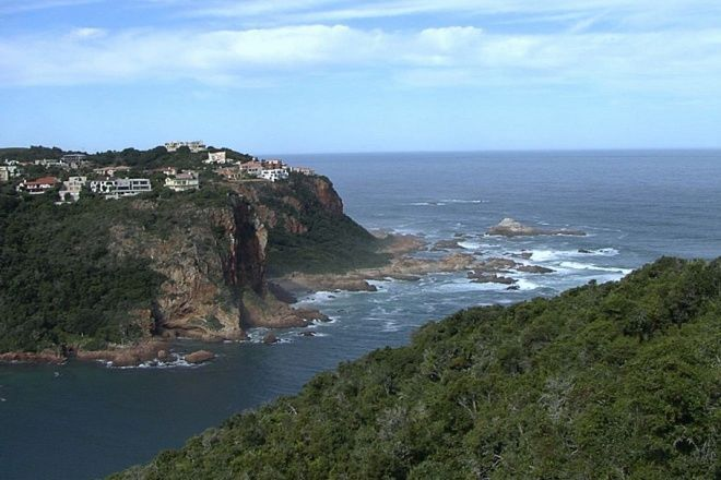 Knysna Heads from Featherbed, South Africa.  LOVED this place, this view, the oysters,  just Amazing!