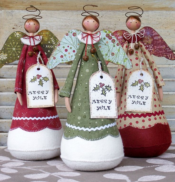 Christmas Dolls by Annie Smith