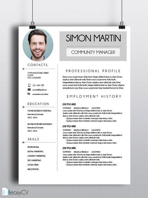 resume template design curriculum vitae free download word interior web designer