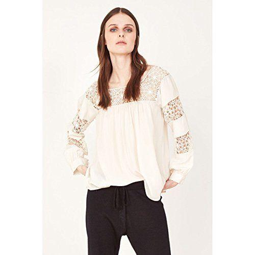 (ウラ・ジョンソン) Ulla Johnson レディース トップス ブラウス Claudelle Lace Blouse 並行輸入品  新品【取り寄せ商品のため、お届けまでに2週間前後かかります。】 カラー:ホワイト 商品詳細1:Hand-crocheted lace borders neckli
