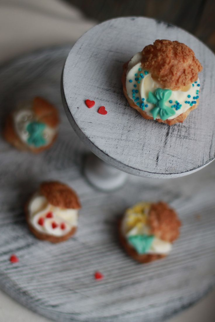 Пироженое Шу «Виктория» — HomeBaked