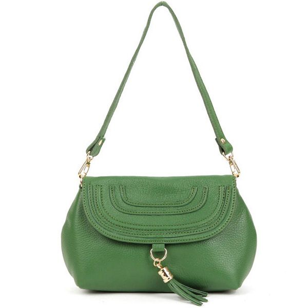 Leather Mini Cross Body Bags Women Shoulder Bags Shine Dress Marci Bag at doozybag.com