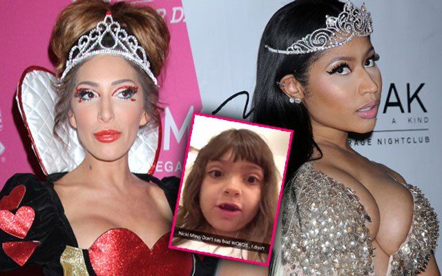 Farrah Abraham has called in the troops for her bitter Twitter battle against Nicki Minaj, posting a video of daughter Sophia slamming the controversial rapper online. As Radar previously reported,...