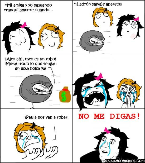 Memes chistosos para facebook: ¡Nos van a robar! → #memesdivertidos #memesenespañol #memesparafacebook #Memestumblr #Memeswhatsapp