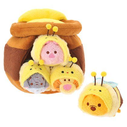Disney Winnie the Pooh Winnie the Pooh ''Tsum Tsum'' Plush Honey Pot Set Japan Import by Disney, Toys & Games - Amazon Canada