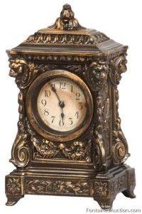 German Bronze Novelty Clock – LOT 215 Estimate: $150 – $250