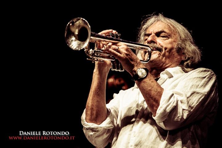 Enrico Rava at Casa del Jazz in Rome