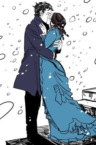 """He tasted like snowflakes and wine, like winter and Will and London."" - Clockwork Princess"