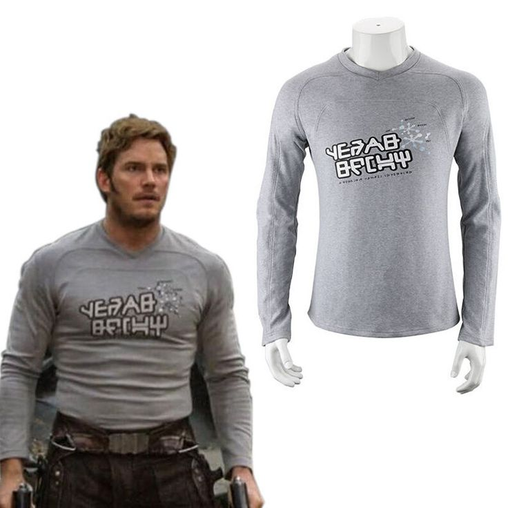 USA Guardians of the Galaxy 2 Star Lord Shirt Peter Jason Quill Cosplay Costume #Unbranded #TShirt