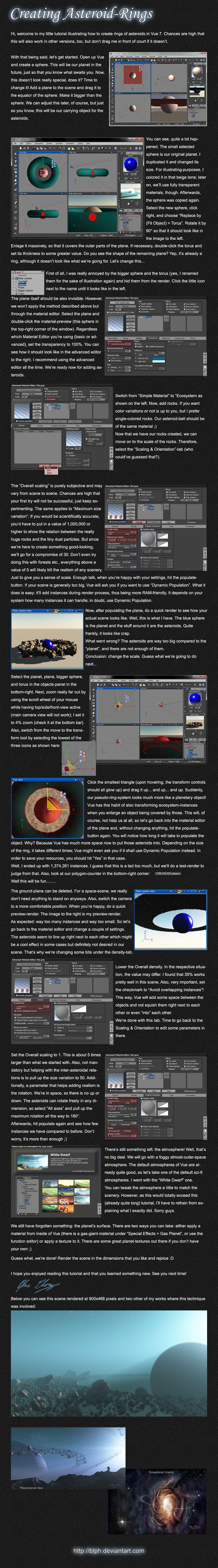 Creating Asteroid-Rings in Vue
