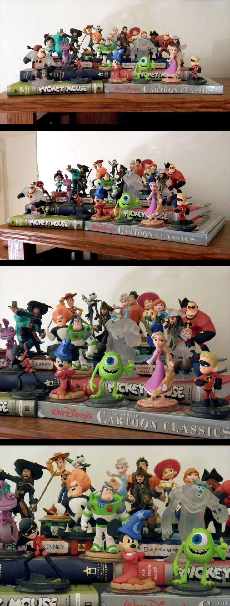 Disney Infinity Display A Creative And Inexpensive Way To
