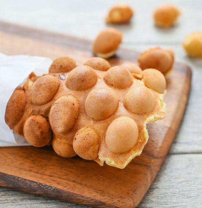 Hong Kong Egg Waffles | Kirbie's Cravings | A San Diego food & travel blog